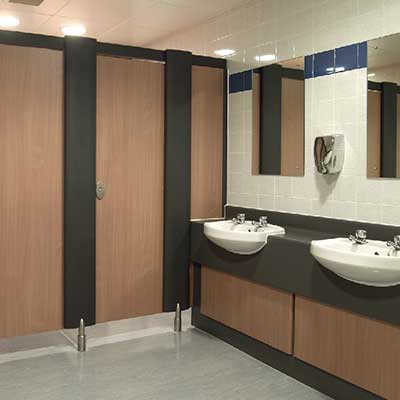 Washrooms/cleanrooms